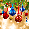 Xmas Ornaments Live Wallpapers icon