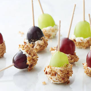 Goat Cheese-Dipped Grapes.