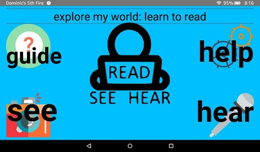 Explore My World: Learn To Read- screenshot thumbnail