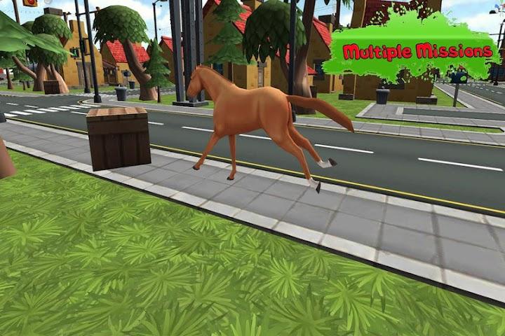 android Super Horse 3D Screenshot 1