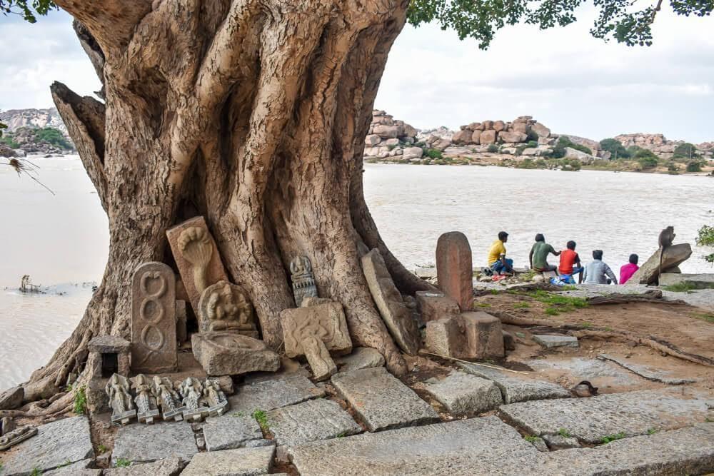hampi+monuments+tungabhadra+karnataka