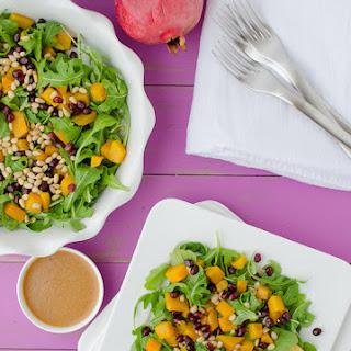Butternut, Arugula, and Pomegranate Salad