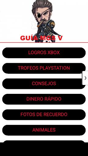 Guía Metal Gear Solid V