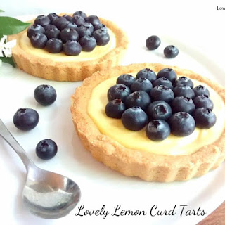 Lovely Lemon Curd Tarts