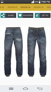 Mens Jeans Design - náhled