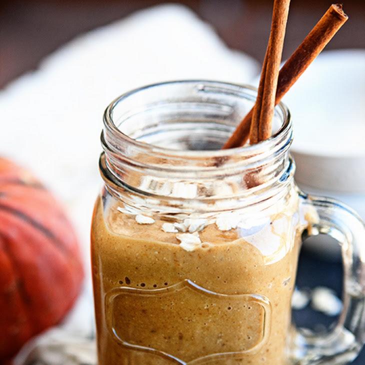Pumpkin Oatmeal Breakfast Smoothie Recipe