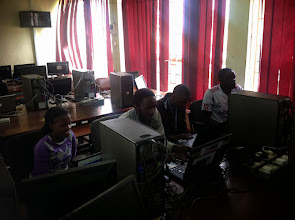 Photo: Student developers do what they do best