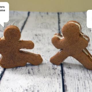 Ninja Gingerbread Men Cookies that Kick Ass