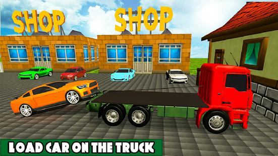 Car Transporter Cargo truck 2019 1