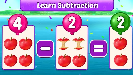 Math Kids – Add, Subtract, Count, and Learn 2