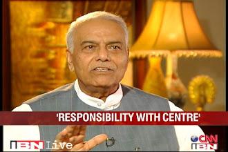 Photo: Coalgate: PM has a criminal liability, says Yashwant Sinha http://t.in.com/3rp7
