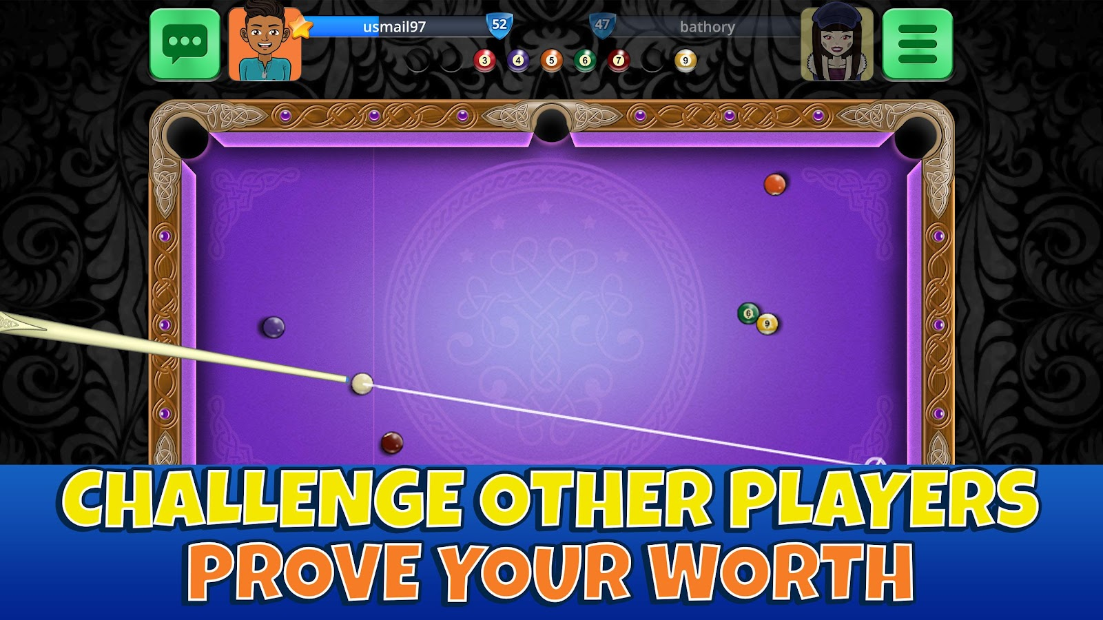9 Ball Pool Casual Arena- screenshot