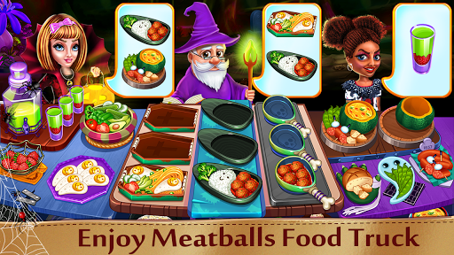 Halloween Cooking: Chef Madness Fever Games Craze 1.4.1 screenshots 12