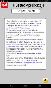 PSU Matemática Prueba Ensayo screenshot 9