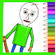 Coloring book for Basics Education & School game!