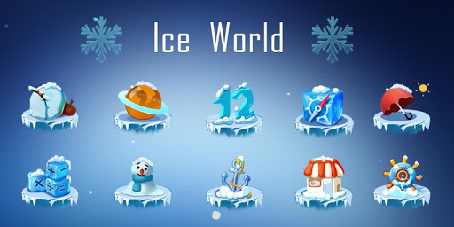 3D Ice World Theme