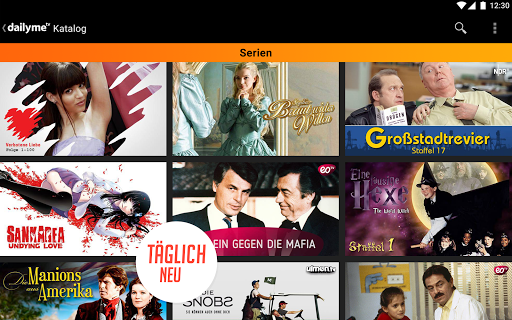 dailyme TV, Serien, Filme & Fernsehen TV Mediathek 20.05.02 screenshots 13