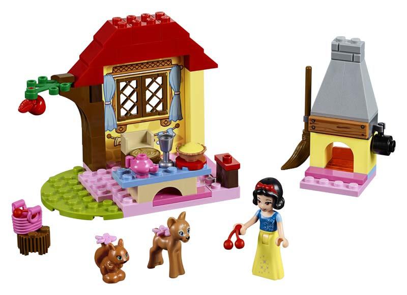 Contenido de Lego® 10738 Cabaña de Blancanieves en el Bosque