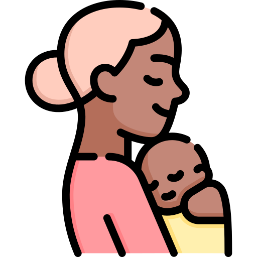 Mom and Baby Icon