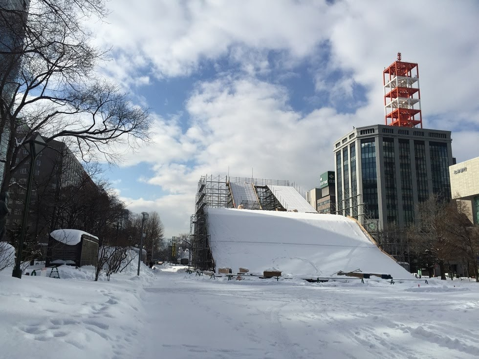 Odori Park, TV Tower, Sapporo Clock Tower