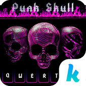 Punk Skull 💀 Keyboard Theme