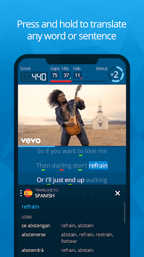 Learn Languages with Music screenshot 3
