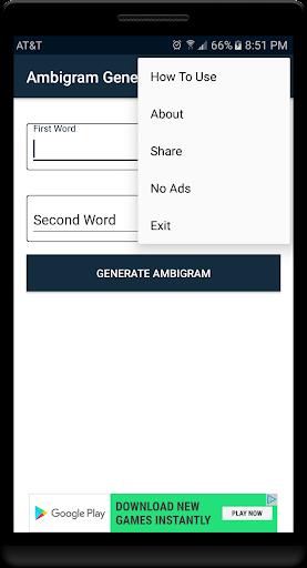 Ambigram Studio 2.0 1.2 screenshots 2