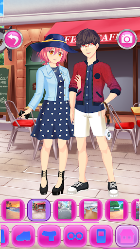 Anime Couples Dress Up Game android2mod screenshots 16