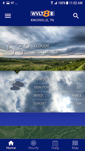 WVLT Weather screenshot for Android