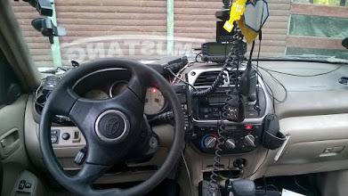 Photo: nie ma wątpliwości jakie hobby ma ten kierowca ;)
