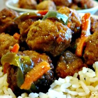 Crock-Pot Sweet N Sour Meatballs.
