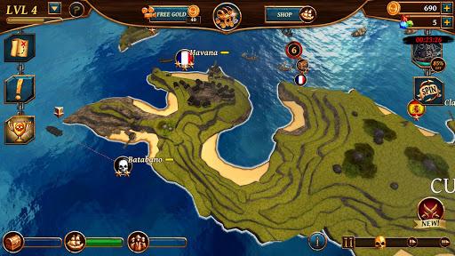 Ships of Battle: Ages of Pirates -Wars u2019n Strategy 2.4.1 screenshots 7
