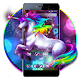 Neon Unicorn Flower Theme Download on Windows