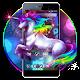 Neon Unicorn Flower Theme Download on Windows
