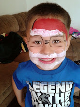 Photo: Call to book Bella today at 888-750-7024Christmas Santa face paint by Bella the Clown, San Berardino, ca 888-750-7024