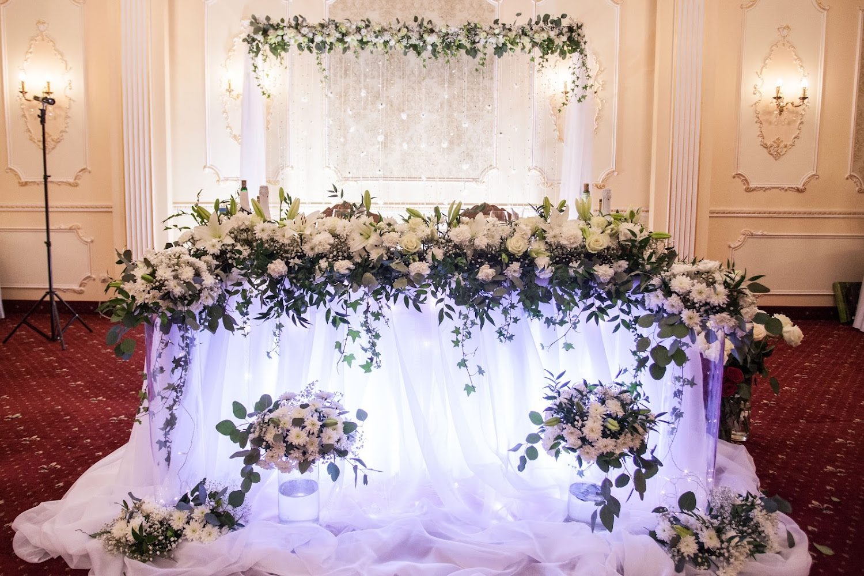свадебное оформление зала и стола фото зовут ситора