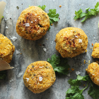 Healthy Awesome Baked Falafel