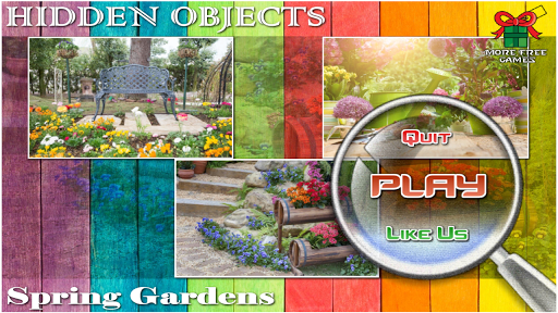 Hidden Objects Spring