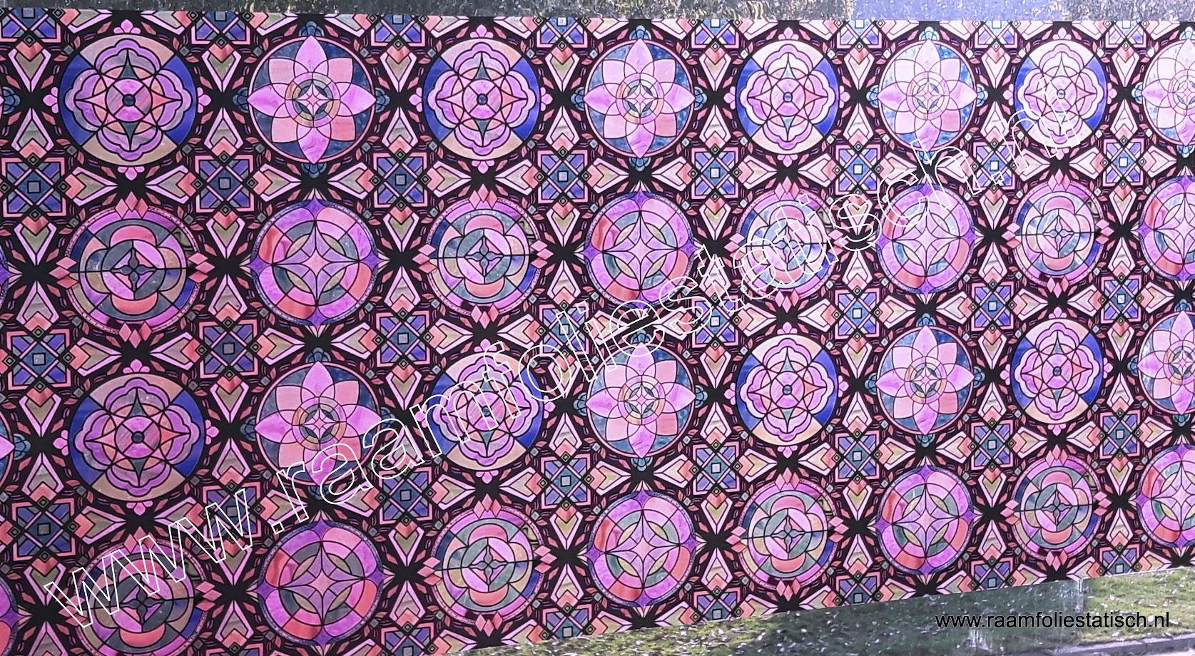 Raamfolie statisch kleuren Lima