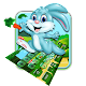 Cute Cartoon Rabbit Keyboard Theme APK