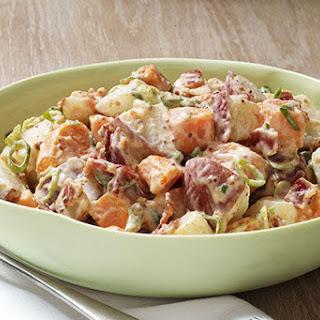 Sweet & White Potato Salad.