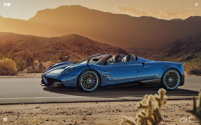 Pagani Huayra HD Wallpapers New Tab Theme