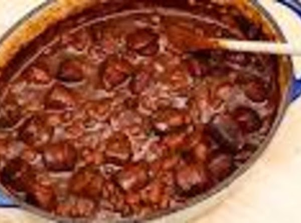 I usually simmer the canned beans for about 45 minutes until done, adding broth...