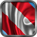 Austrian Flag Live Wallpaper icon