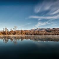 lago di montagna di