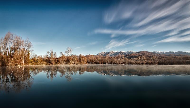 lago di montagna di Sil-M