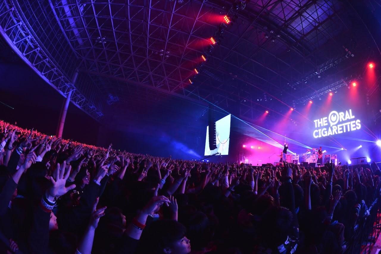 【迷迷現場】COUNTDOWN JAPAN 18/19 THE ORAL CIGARETTES 演出大爆棚 宣言「我們絕對會讓大家看到美麗的風景」