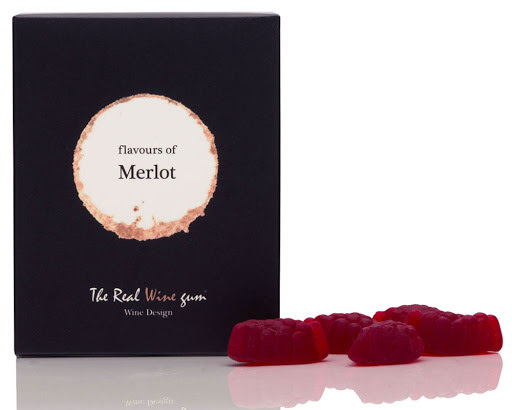 Merlot vingummi - Vinoos