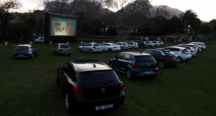 Park and watch on a big screen is a hit with Capetonians.