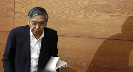 Bank of Japan governor Haruhiko Kuroda attends a post-policy announcement news conference at the BoJ headquarters in Tokyo on June 15 2018. Picture: REUTERS